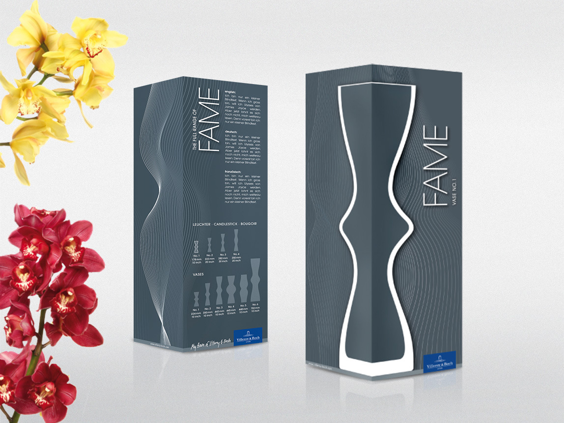 Villeroy & Boch – Packaging Vases Fame