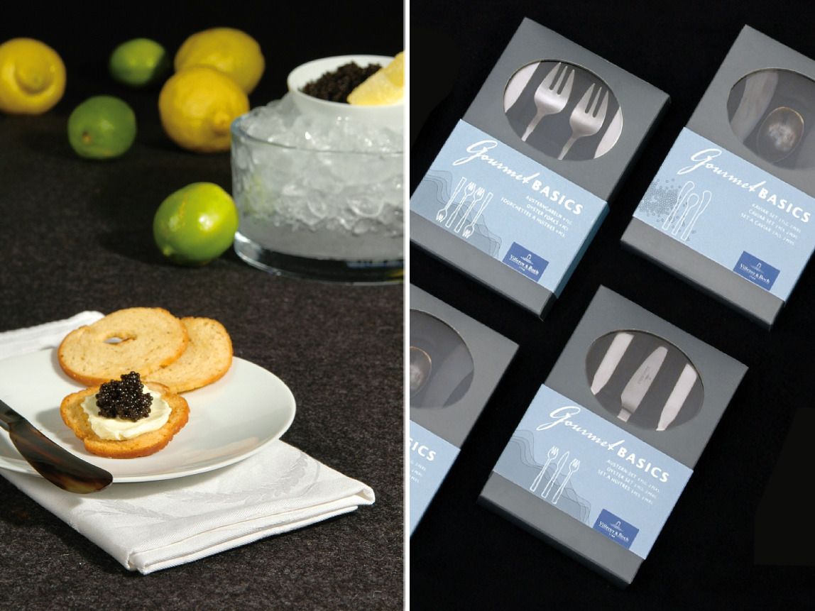 Villeroy & Boch – Packaging Gourmet Basics
