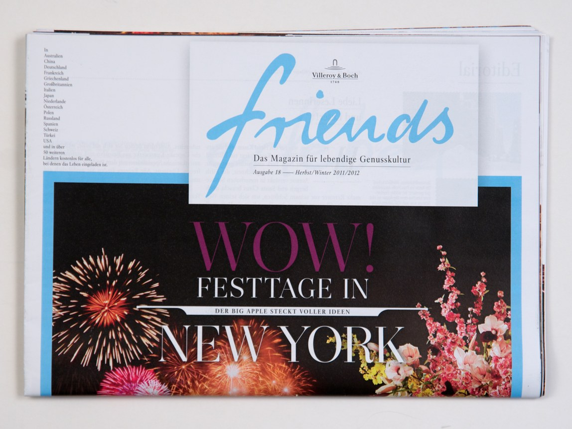 Friends – Magazine 2011