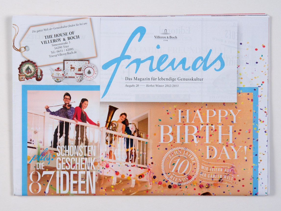 Friends – Magazine 2012