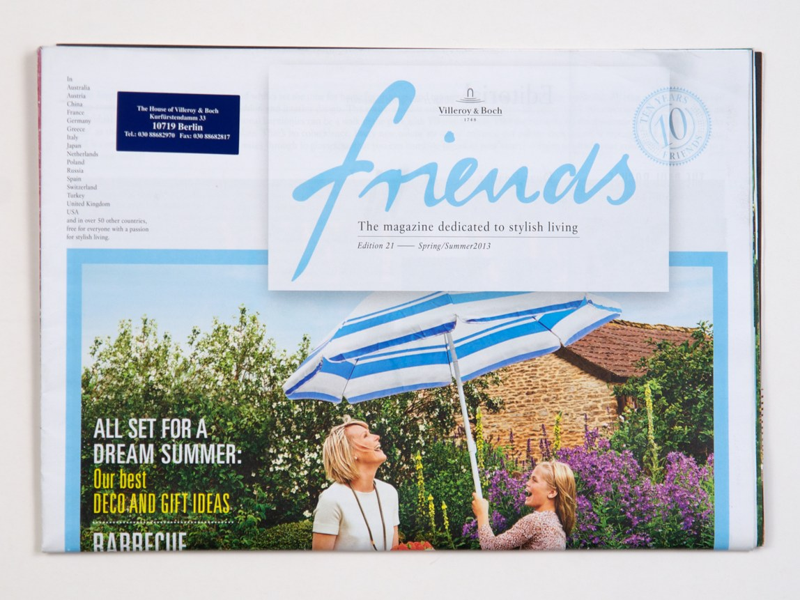 Friends – Magazine 2013