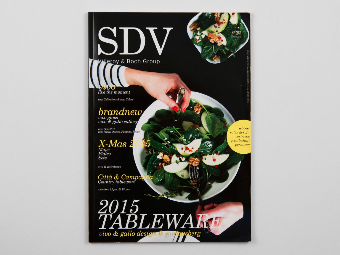SDV – Novelties Catalog 2015